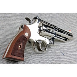 S&W N Frame Square Butt Walnut Grips w/medalions
