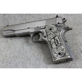1911 Pewter Remember 911 Grips