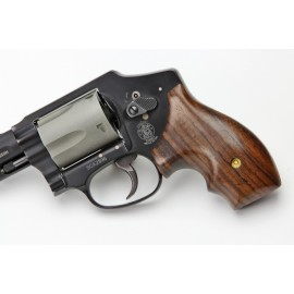 S&W J Frame Round Butt Secret Service Rosewood Grips