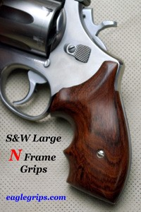 Smith & Wesson N Frame Round Butt Secret Service Revolver Grips